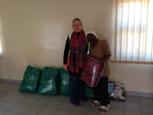 Donation for Kuisebmond Old Age Home