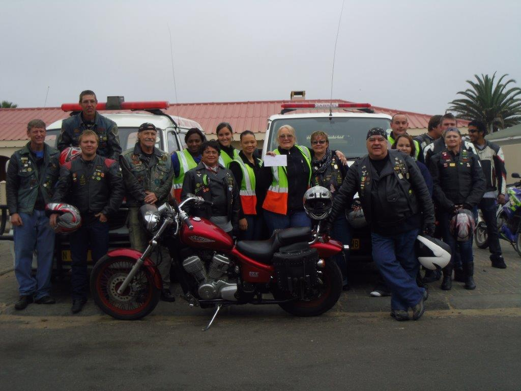 Donation from Motorcycle Club